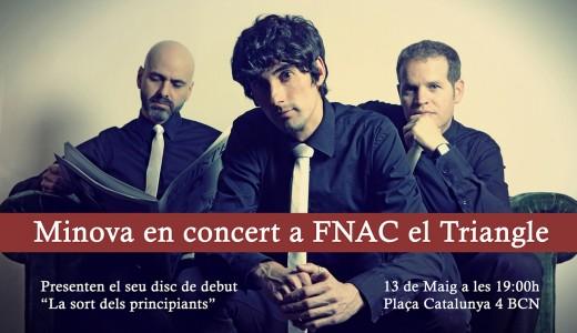 Concert Minova FNAC